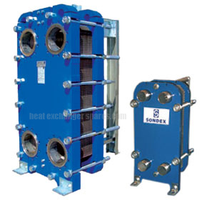 Sondex Plate Heat Exchangers